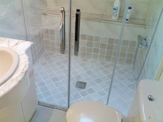 Easy shower for Cambiar plato de ducha