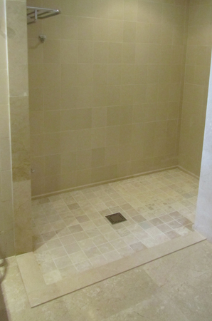 Replace your existing bathing space with a commercial quality barrier free shower, Handicap Showers, Handicap Shower wellchair friendly